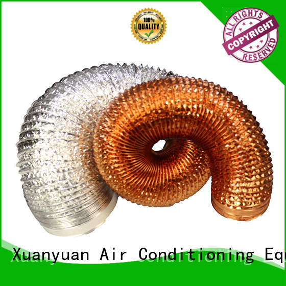 Xuanyuan pvc aluminum duct pipe wholesale products for sale for fresh air system ventilation