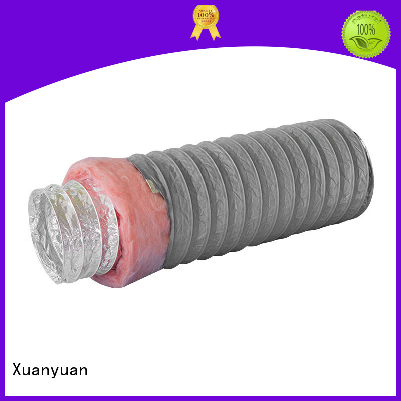 Xuanyuan round insulated flex duct series for general purpose exhaust