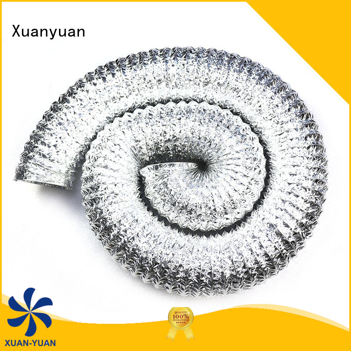 Xuanyuan ketchen flexible aluminum tubing china products online for bath heater ventilation