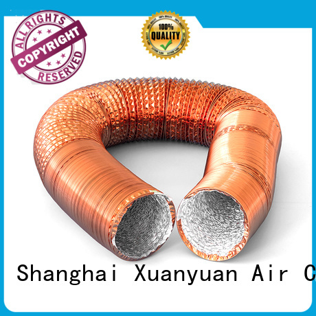 Xuanyuan copper flexible vent pipe china products online for fresh air system ventilation
