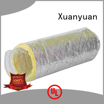 hvac 4 inch insulated duct inch from China for bath heater ventilation