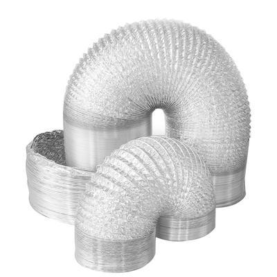 Double Layers  7 Inch Flexible Aluminum Duct Length Custom