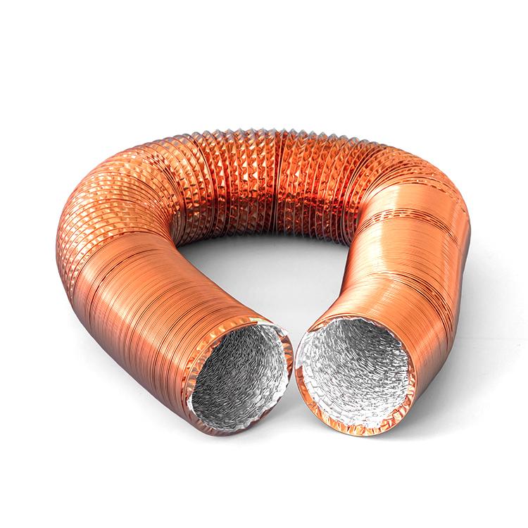 Copper Plating Aluminum Flexible Round Duct
