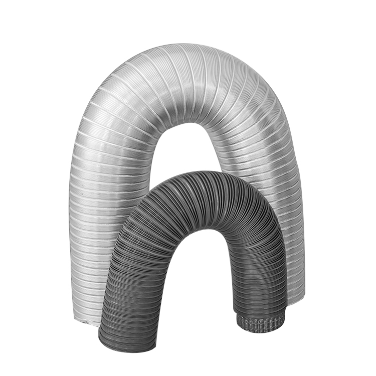 Semi-rigid Flexible Aluminum Duct With Double-layer