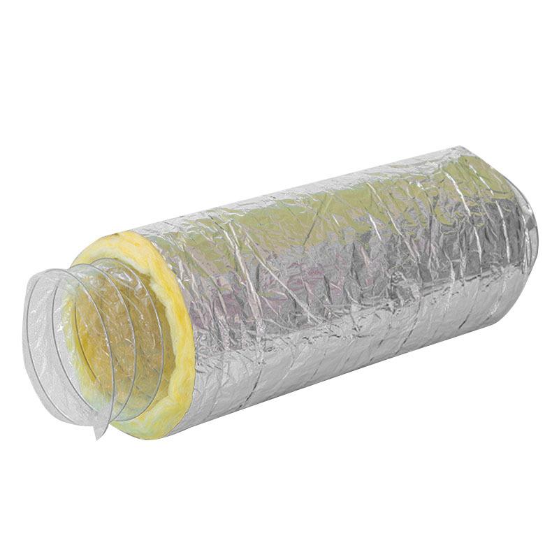 Fiberglass Insulation Flexible Duct Length Customization
