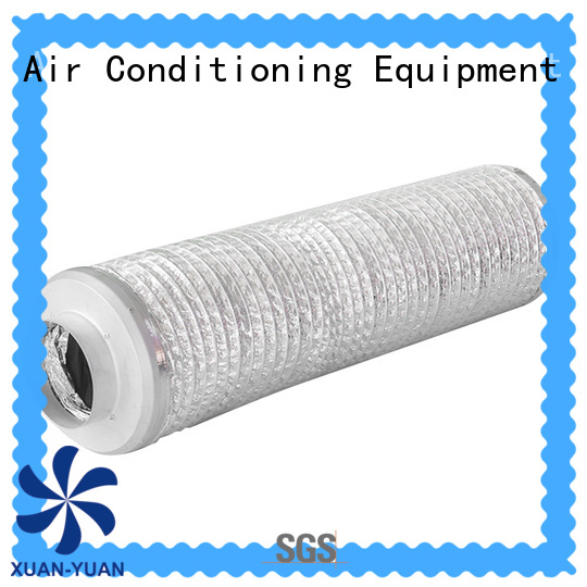 Xuanyuan nice-design acoustic pipe lagging inquire now for fresh air system ventilation