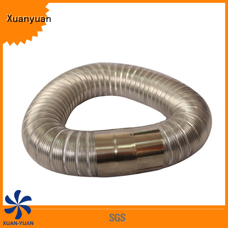 Xuanyuan round semi rigid dryer duct promotion for range hood ventilation