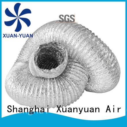 Xuanyuan copper flexible aluminum duct cheap wholesale for ventilator