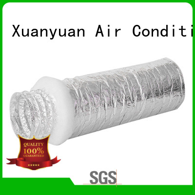 Xuanyuan hvac insulation flexible duct customized for fresh air system ventilation