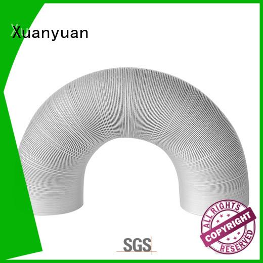 Xuanyuan tubing aluminum flex duct cheap wholesale for bath heater ventilation