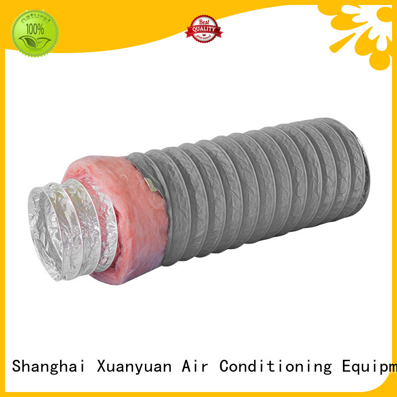 Xuanyuan 100mm duct insulation manufacturer for range hood ventilation