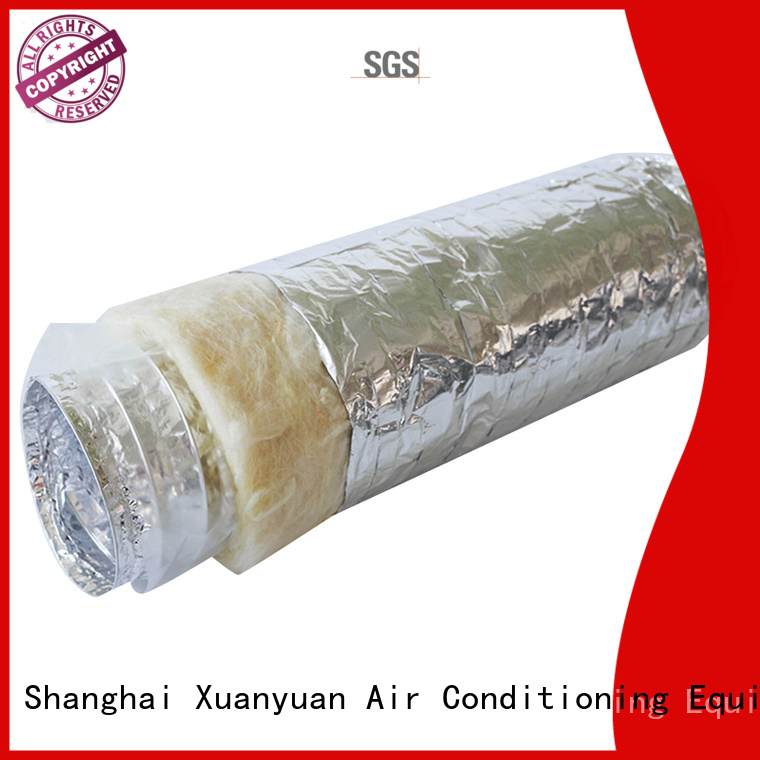 Xuanyuan acoustic acoustic pipe lagging inquire now for fresh air system ventilation