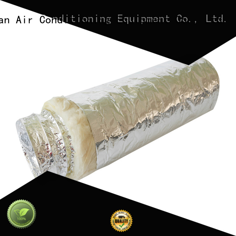 Xuanyuan air 4 inch insulated flexible duct from China for fresh air system ventilation