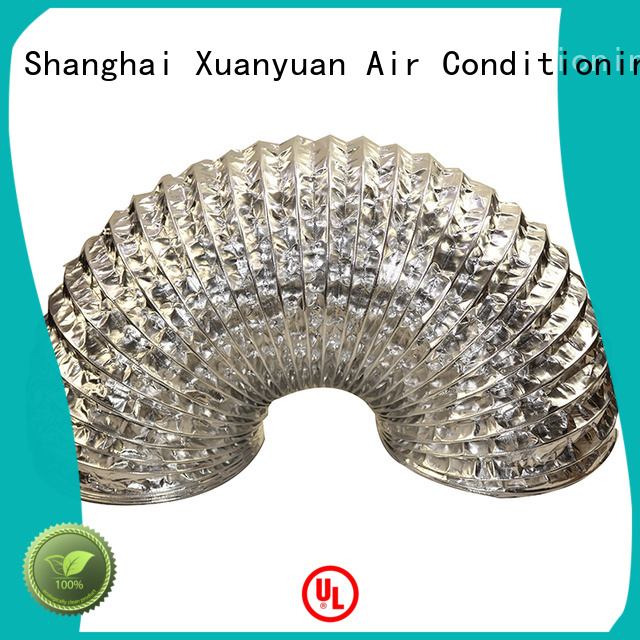 Xuanyuan pvc flexible air duct from China for havc