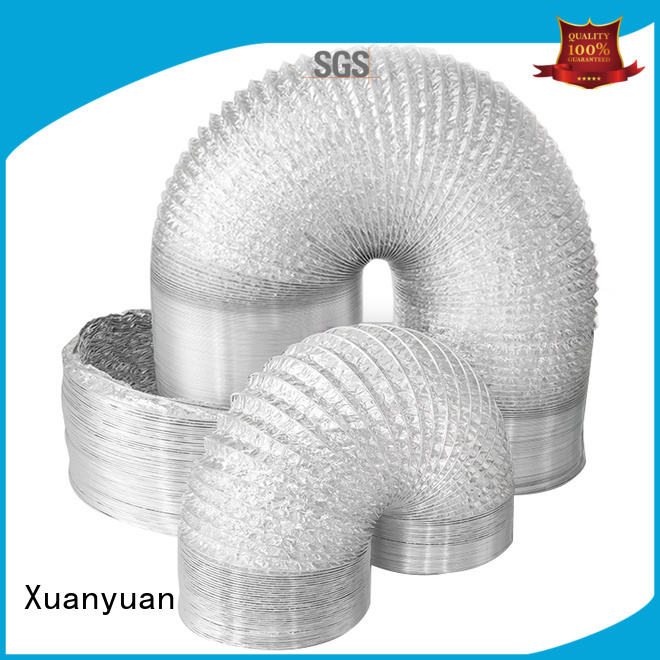 Xuanyuan ketchen flexible vent pipe manufacturer for ventilator
