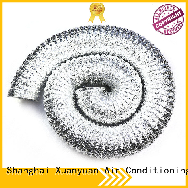 Xuanyuan round aluminum ductwork manufacturer for ventilator