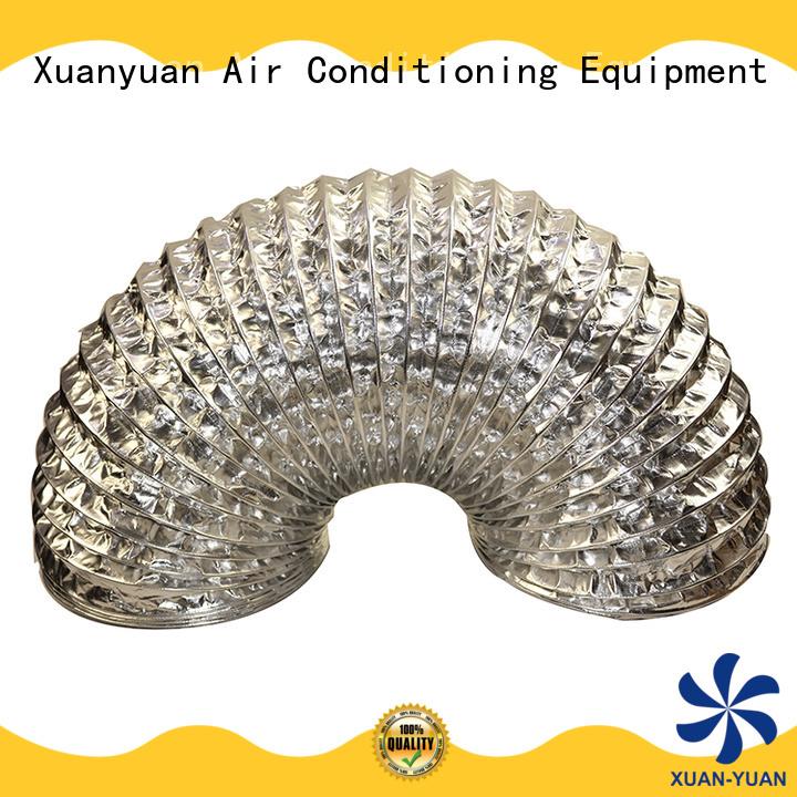 Xuanyuan aluminum flexible ducting hose online wholesale market for fresh air system ventilation