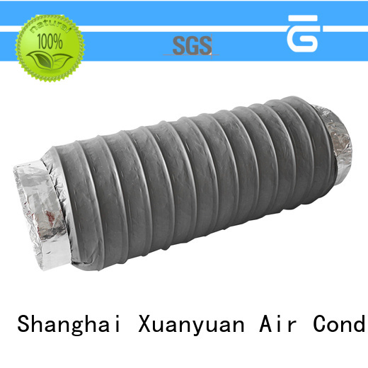 Xuanyuan acoustic acoustic flexible duct design for ventilator