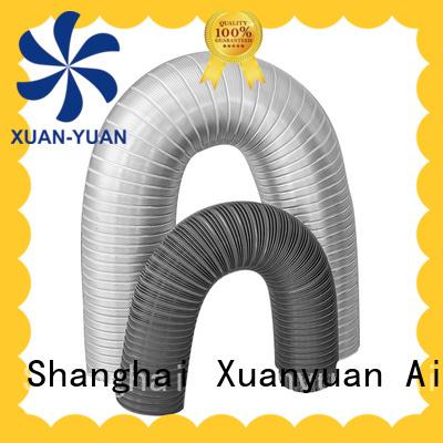 Xuanyuan high-quality 150mm semi rigid aluminium ducting china factory for ventilator