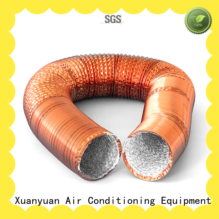 Xuanyuan ventilation aluminum flex duct cheap wholesale for general purpose exhaust