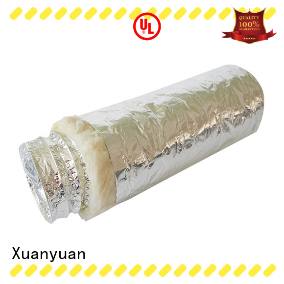 Xuanyuan size insulated vent pipe from China for range hood ventilation