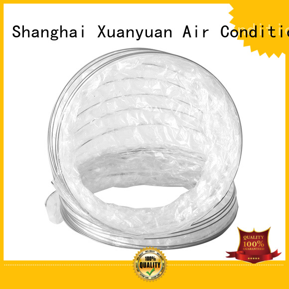 Xuanyuan tubing rectangular flexible duct manufacturer for bath heater ventilation