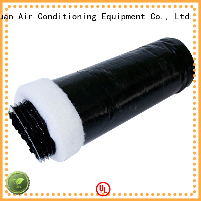 Xuanyuan fiberglass round duct insulation manufacturer for havc