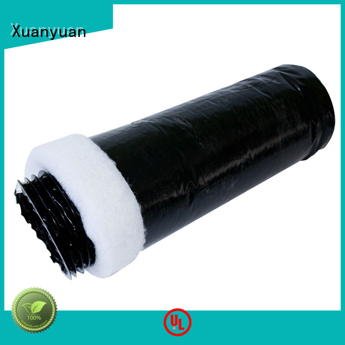 polyester fiberglass duct ducting manufacturer for range hood ventilation