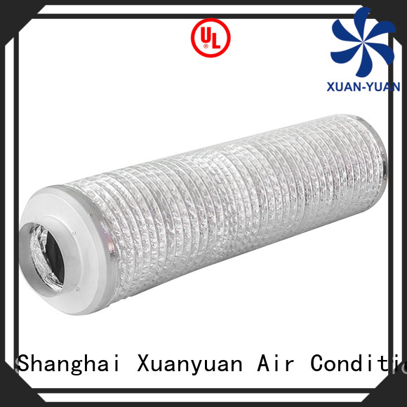 Xuanyuan silent acoustic flexible duct with good price for havc