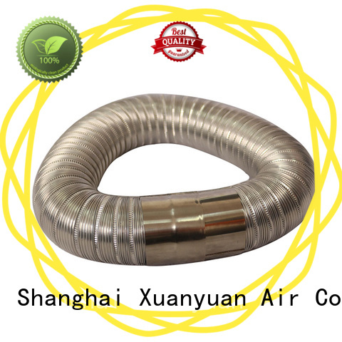 high-quality aluminium semi rigid flexible duct aluminum china factory for range hood ventilation