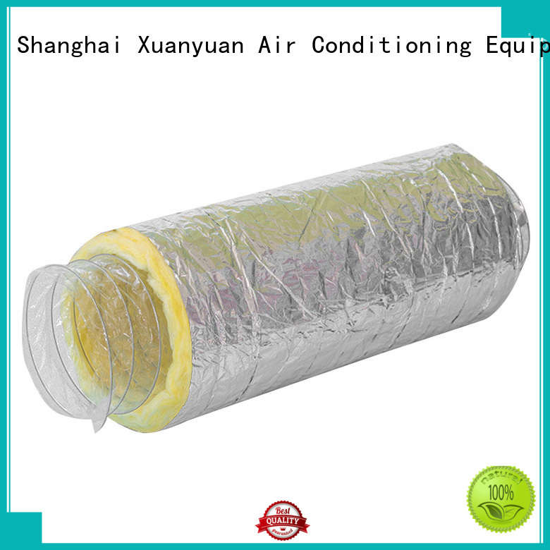 Xuanyuan customized length insulated rigid ductwork directly sale for ventilator