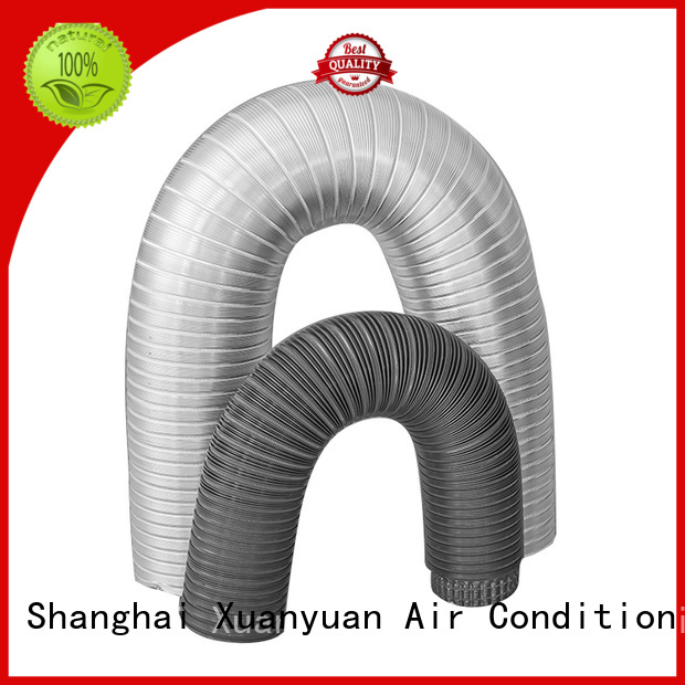 flexible semi rigid dryer duct flexible china factory for bath heater ventilation