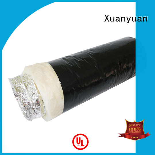 Xuanyuan length round duct insulation series for fresh air system ventilation
