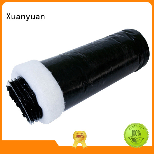 Xuanyuan flexible insulated vent pipe manufacturer for bath heater ventilation