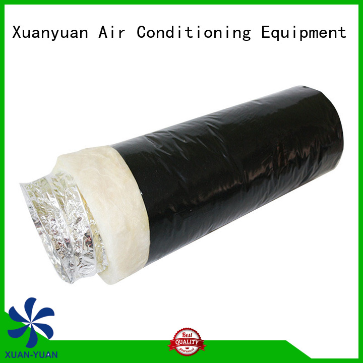 Xuanyuan hvac insulation flexible duct directly sale for fresh air system ventilation