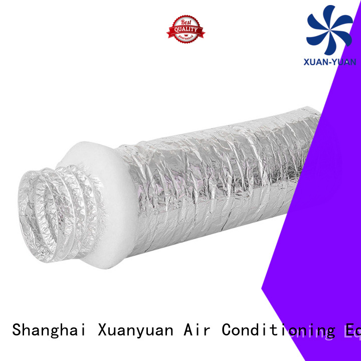 customized length fiberglass ductwork round directly sale for general purpose exhaust