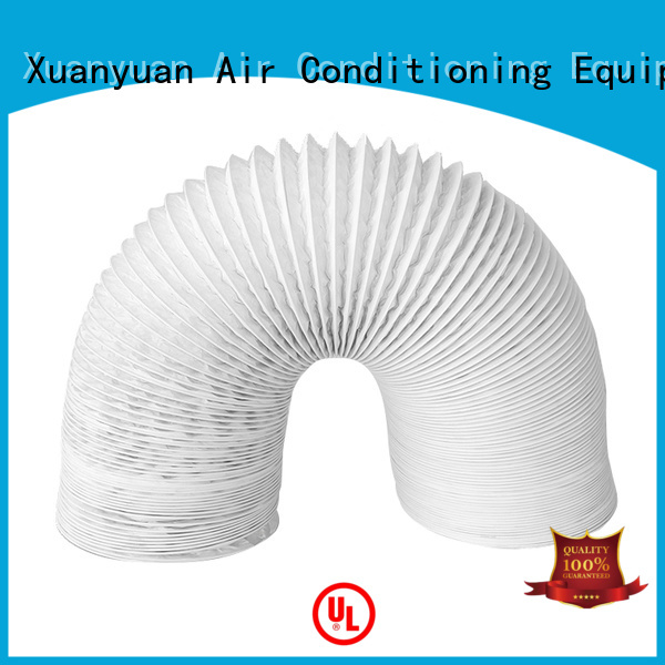 Xuanyuan glass flexible air duct online wholesale market for fresh air system ventilation