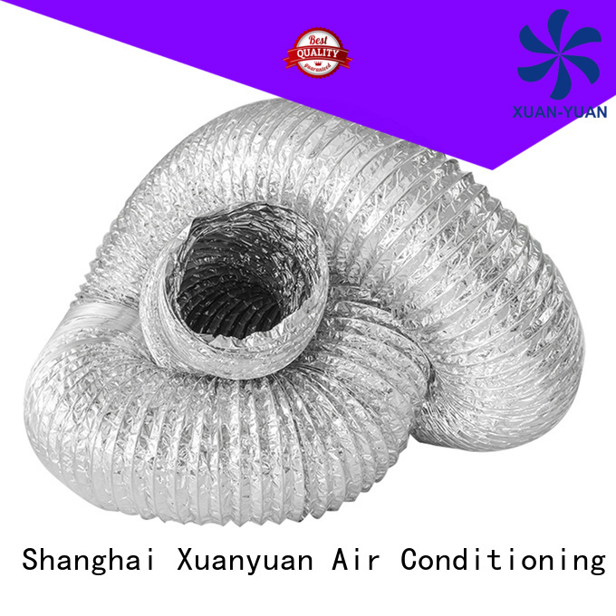 Xuanyuan pvc aluminum duct pipe china products online for general purpose exhaust