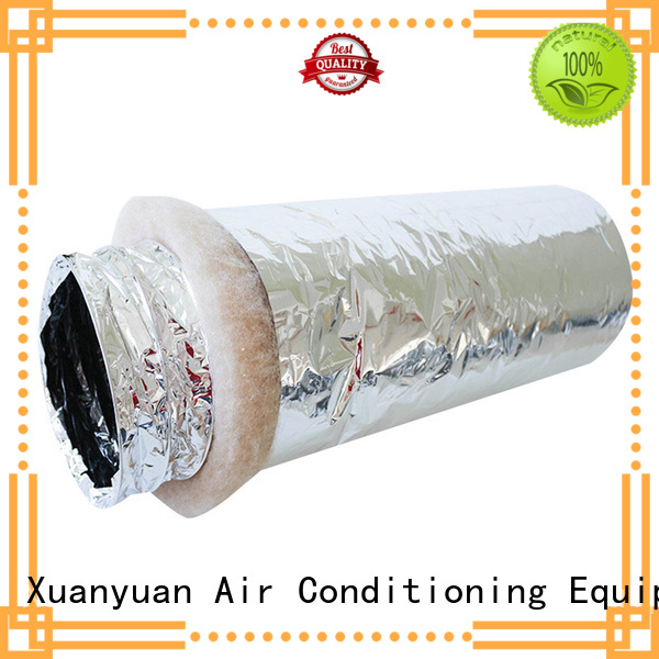 Xuanyuan polyester fiberglass duct manufacturer for general purpose exhaust
