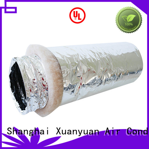 Xuanyuan round 3 inch insulated flexible duct from China for general purpose exhaust