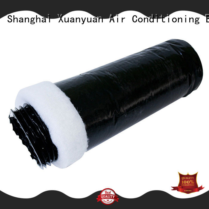 Xuanyuan 12-inch 4 inch insulated duct from China for general purpose exhaust