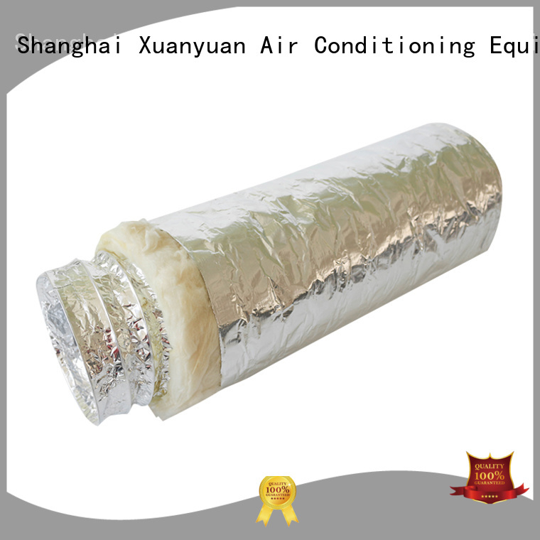Xuanyuan flex 4 inch insulated flexible duct from China for ventilator