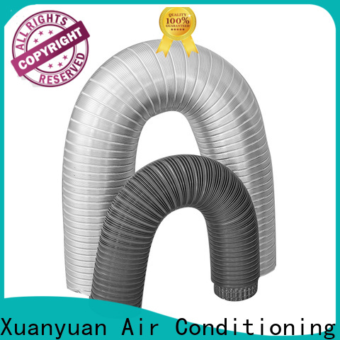Xuanyuan doublelayer 150mm semi rigid aluminium ducting china factory for havc