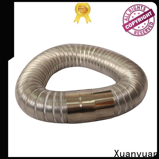 round aluminium semi rigid flexible duct doublelayer on sale for ventilator