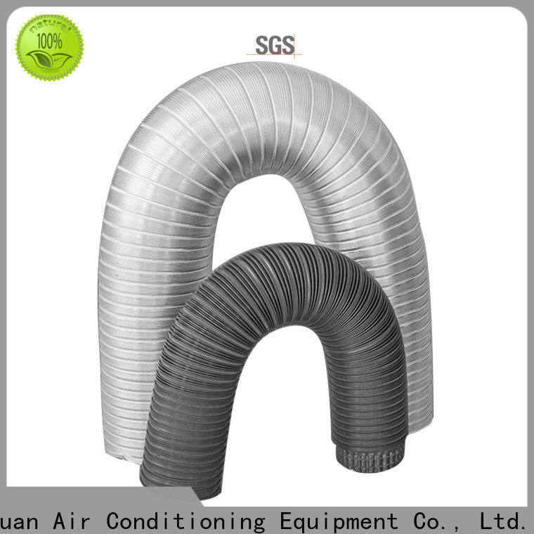 Xuanyuan doublelayer semi rigid dryer duct on sale for fresh air system ventilation