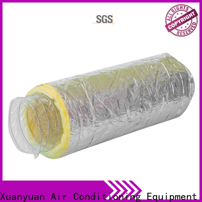 Xuanyuan hvac insulated vent pipe directly sale for fresh air system ventilation