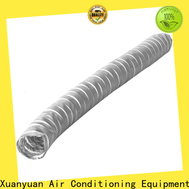 pvc fabric air duct double from China for ventilator