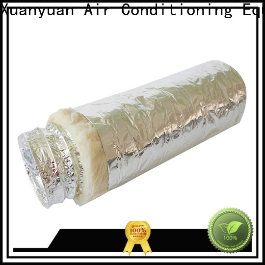 Xuanyuan customized length air duct insulation directly sale for ventilator