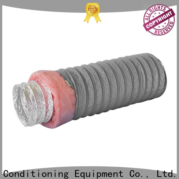 hvac insulated vent pipe 100mm customized for general purpose exhaust