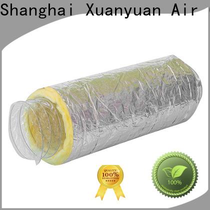 fiberglass insulated rigid ductwork duct series for ventilator